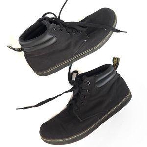 Doc Marten canvas boots